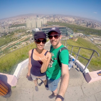 Selfie vom Lookout