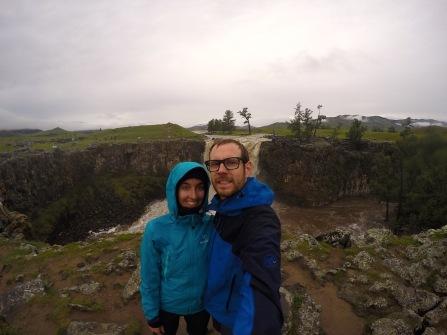 Orchon-Wasserfall