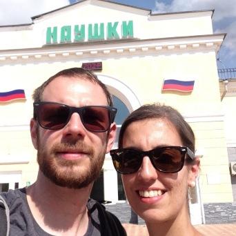 Byebye Russa - Grenzbahnhof Nauschki