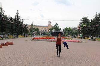 und wieder Regen..but who cares! :-)