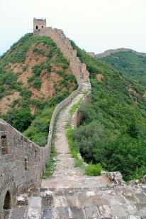 nicht restaurierter Teil der Mauer