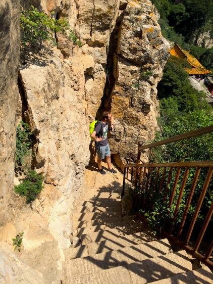 Treppen nach oben
