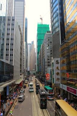 Strassen von Hongkong