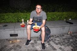 ..und Instant-Noodles.. :-)