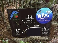 völlig unverständliche Karte - dafür überall Wifi....