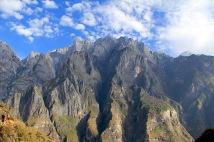 wunderschöner Ausblick auf die gegenüberliegenden Berge