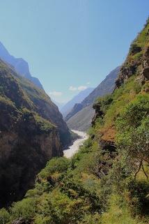 Blick auf den Jangtsekiang