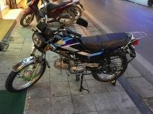 unser eigenes Motorrad