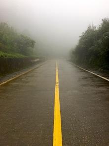 Nebel und Regen