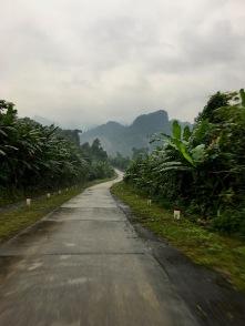 Farht durch den Nationalpark
