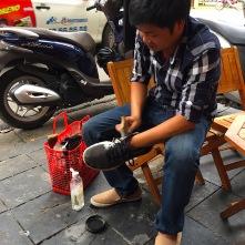 ..und die Schuhe geputzt