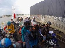 auf der Fähre nach HCMC