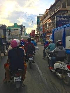Fahrt nach Phnom Penh