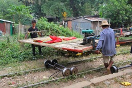 Bambootrain