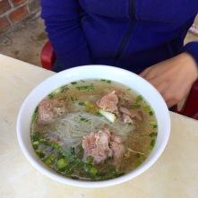 Pho Bo (Nudelsuppe mit Rindfleisch)