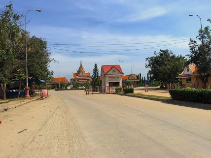 Kambodschanische Grenze - wir habens geschafft!