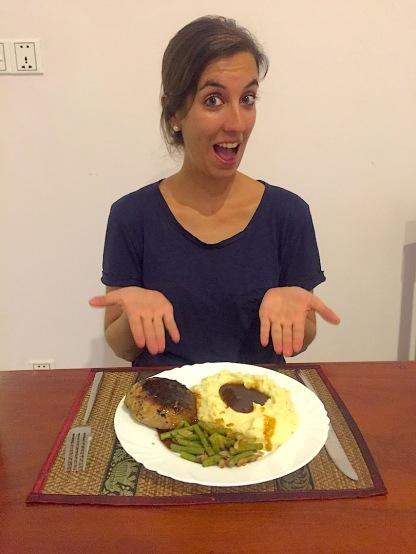 Oooh jaa, ich hatte Hunger!! ;-)