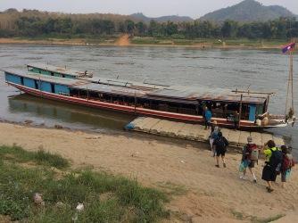 Slow-Boat Pier in Luang Prabang