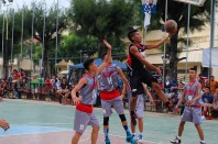 Basketballmatch in Bantayan
