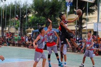 Basketballmatch in Bantayan