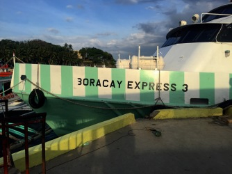 Überfahrt nach Boracay