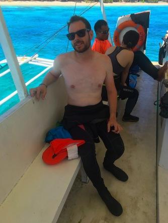 Auf dem Boot...gleich gehts los!