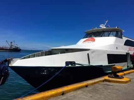 Fähre von Tagbilaran nach Cebu City
