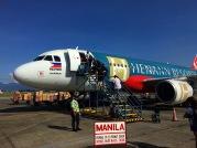 Flugzeug nach Manila