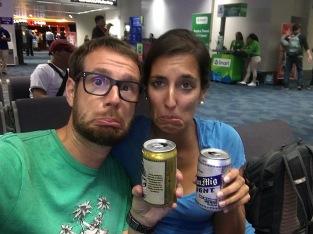 letzte Stunden mit einem letzten kühlen Bier in Manila...see you soon!