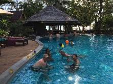 Erholhung im Pool