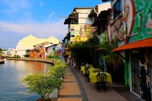 Uferpromenade Melaka