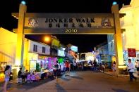 Nachtmarkt Melaka