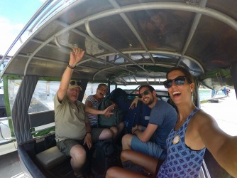 Tuktukfahrt ins Hotel