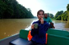 Kaffee mitten im Dschungel