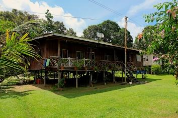 Haus von Yanti und Osman
