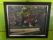 Sir David Attenborough mit dem noch deutlich jüngeren Osman