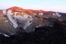 Krater des Fujisan