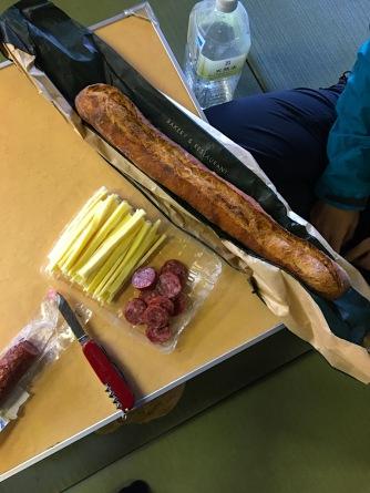 Brot, Wurst und Käse
