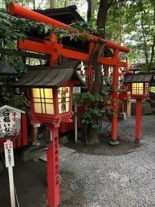 Schrein in Arashiyama