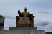 Statue von König Sejong