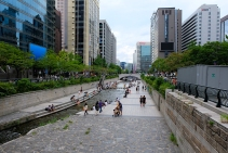 Cheonggyecheon Fluss