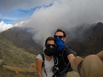 auf dem Gunung Bromo