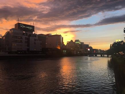 Flussufer des Naka-gawa