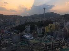 Busan (noch) bei Sonnenschein