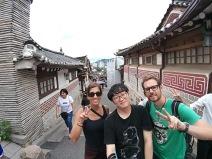 Selfie im Bukchon Hanok-Village