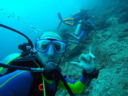 Diving Marc