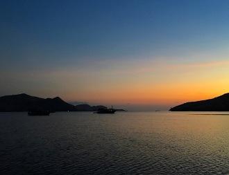 Morgenstimmung auf dem Boot