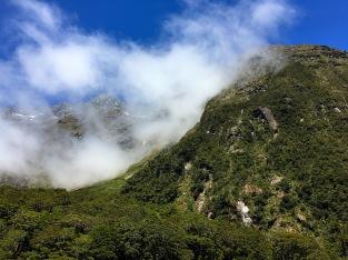 Fahrt zurück nach Te Anau