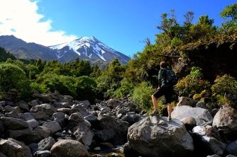 Mt. Taranaki bei Sonnenschein
