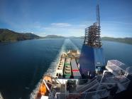 Durch die Cook Strait hoch in den Norden Neuseelands